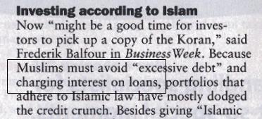 Islamic Prohibition