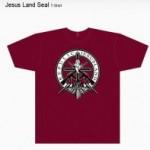 Jesusland Seal tee